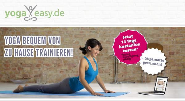 Yoga bequem von zu hause trainieren!