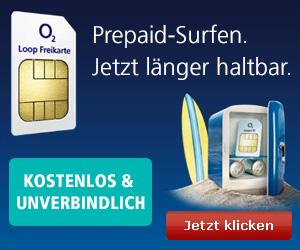 O2 Gratis Prepaid-Karte!