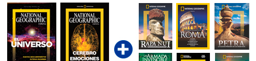 6 DVD NATIONAL GEOGRAPHIC GRATIS