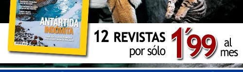 12 revistas por tan sólo 1,99 euros al mes